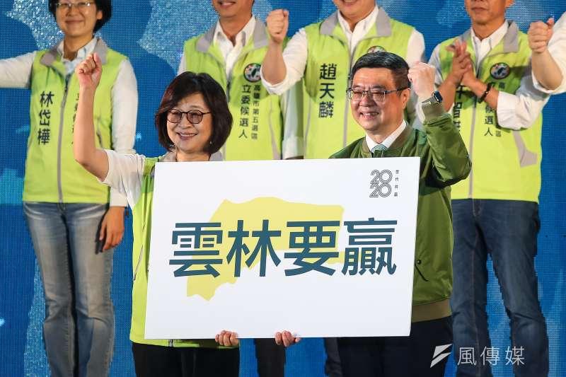 20190928-民進黨立委蘇治芬28日出席民進黨全代會。(顏麟宇攝)