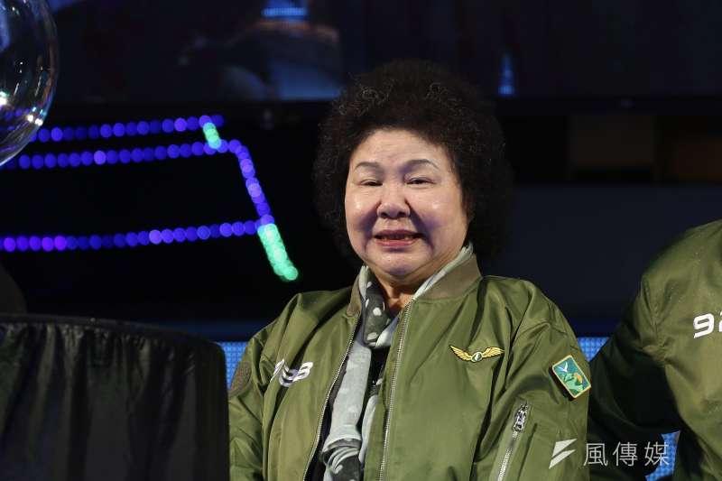 20190928-總統府秘書長陳菊出席民進黨33週年黨慶臺灣派對。(陳品佑攝)
