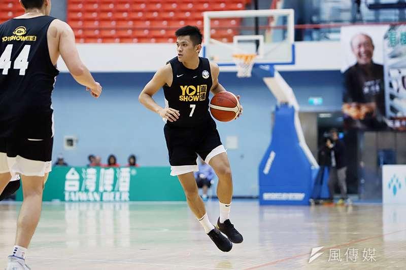 九太科技籃球隊重返台灣職業賽場之後,在觀護盃繳出不錯的成績。(余柏翰攝)