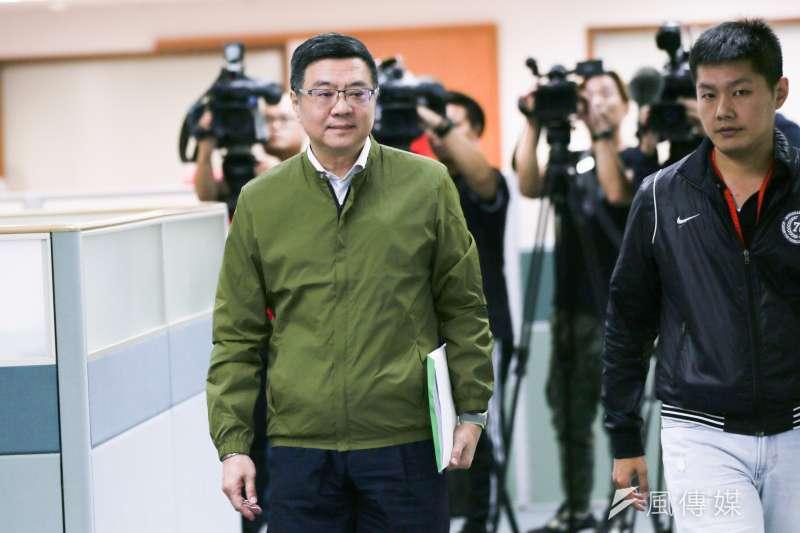 針對陳同佳案,民進黨主席卓榮泰(見圖)22日說,政府不會因為前總統馬英九的幾滴眼淚,就喪失自己堅持的立場。(資料照,簡必丞攝)