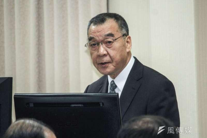 日前國安局長邱國正(見圖)在答詢時,曾指出北韓最高領導人金正恩「有病」,引發討論。(資料照,蔡親傑攝)