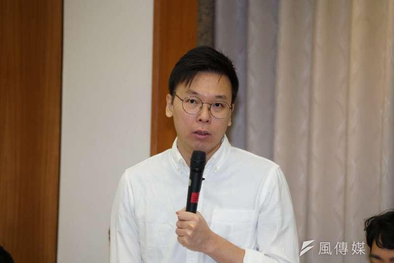 民進黨副秘書長林飛帆(見圖)3日在臉書上貼出多張照片,表示「卡神」楊蕙如曾貼文謾罵多位民進黨黨公職。(資料照,盧逸峰攝)