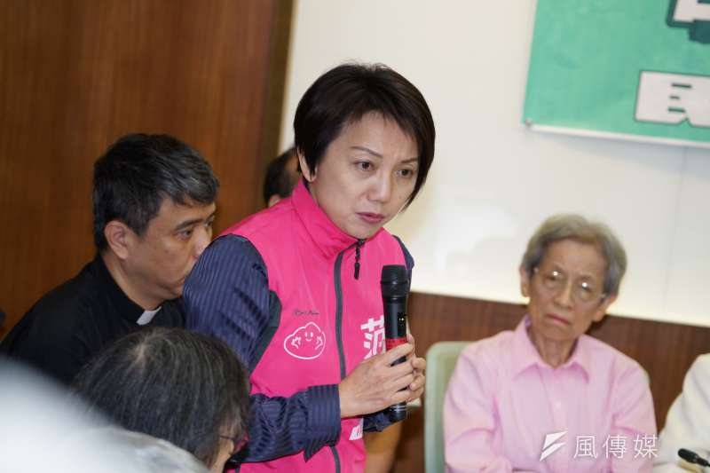 社會民主黨創黨召集人、台大社會系副教授范雲,今(14)日確定被民進黨提名為2020不分區立委,且名列安全名單第3位。(資料照片,盧逸峰攝)