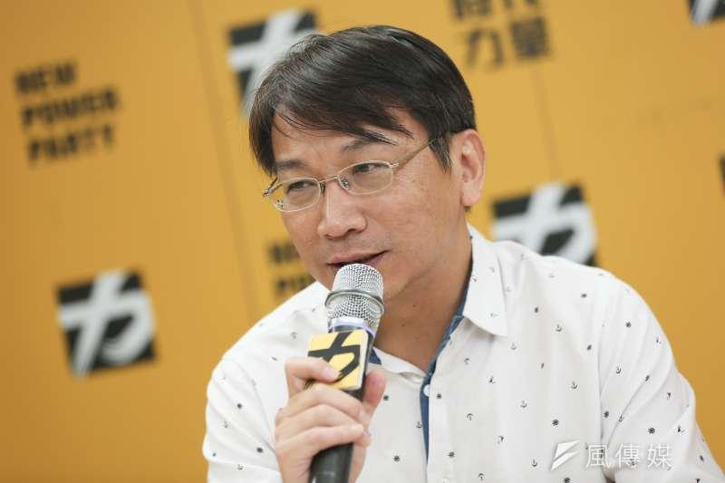 時代力量黨主席徐永明今9日一早透過黨中央發布聲明表示,現階段並無相挺民進黨人選的決議。(資料照,簡必丞攝)