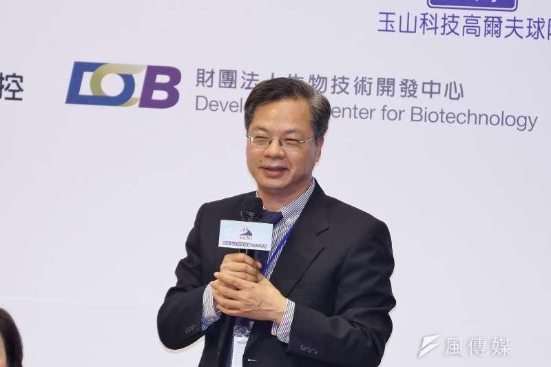 政委龔明鑫說明紓困方案加碼內容。(資料照片,盧逸峰攝)