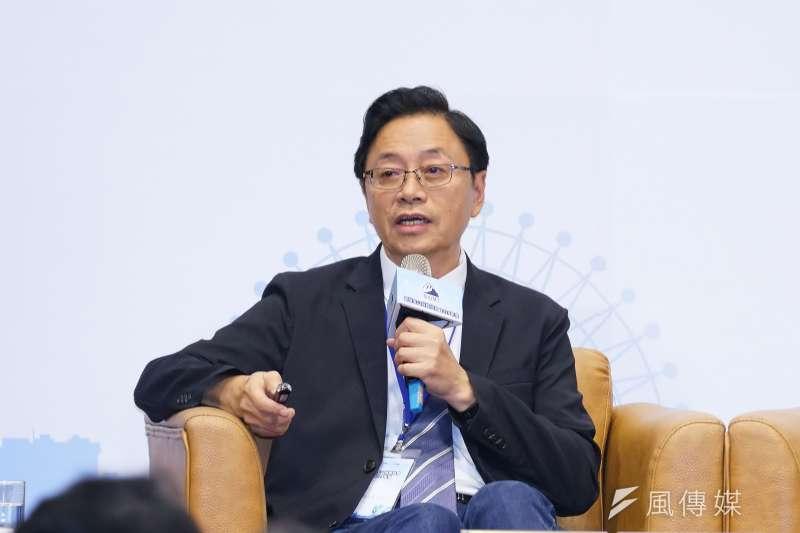 韓國瑜國政顧問團總召張善政接受《中評社》專訪時指出,現在的民調隱性的太多,可信度、機構效應等都該打問號,且綠營的表現不像是民調領先10%的樣子。(資料照,盧逸峰攝)