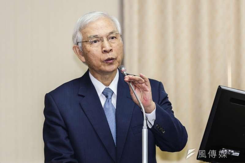 央行總裁楊金龍的「老實說」得體嗎?。(簡必丞攝)