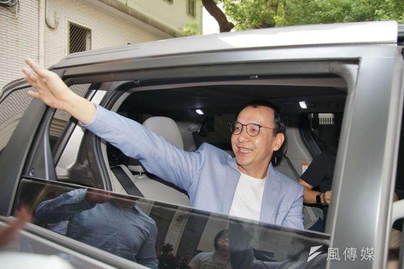 被點名接任國民黨總統參選人韓國瑜副手,前新北市長朱立倫(見圖)8日表示,會做好輔選的角色,為黨內立委、總統參選人加油。(資料照,盧逸峰攝)