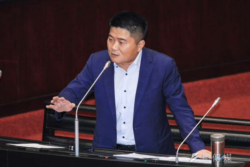 20191004-立委顏寬恆出席立院9屆8會期質詢。(蔡親傑攝)