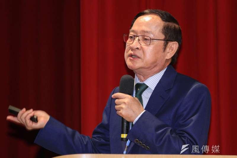 20191005-前立委林郁方出席馬英九基金會舉辦「台灣的國安問題研討會」,並做專題演講。(蔡親傑攝)