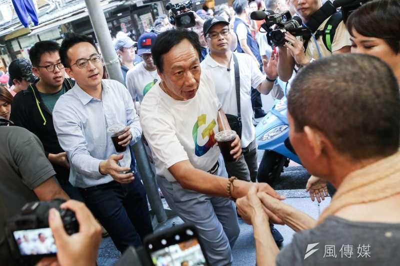 對於國民黨副秘書長杜建德聲稱,鴻海創辦人郭台銘(見圖)心裡其實想支持國民黨,相信未來能成功整合;但此言一出,不少郭台銘支持者不買帳。(資料照,簡必丞攝)