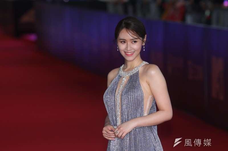 20191005-2019電視金鐘獎,吳宗憲女兒吳姍儒。(顏麟宇攝)