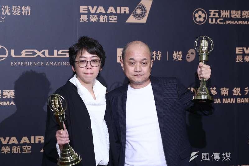 20191005-2019電視金鐘獎,迷你劇集獎《奇蹟的女兒》。(陳品佑攝)