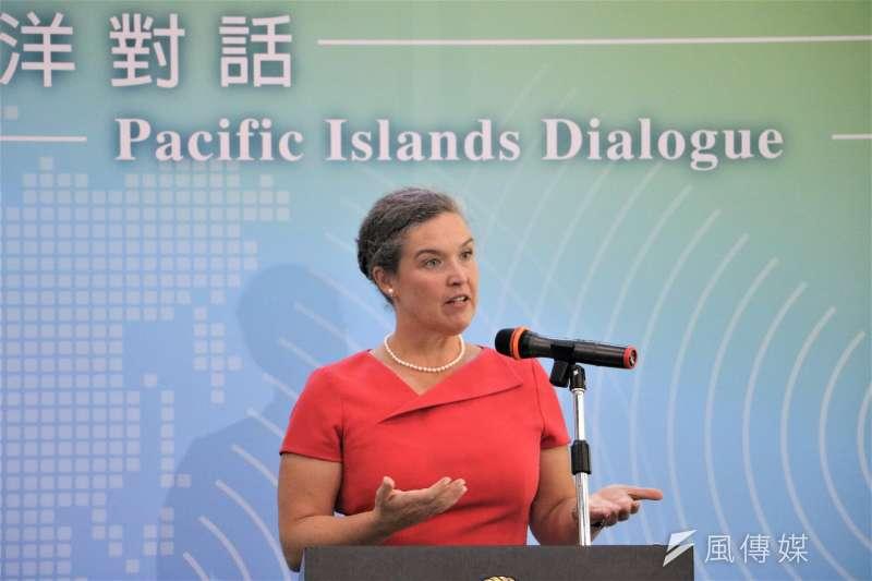 首屆太平洋對話開幕式:美國國務院亞太局副助卿孫曉雅(簡恒宇攝)