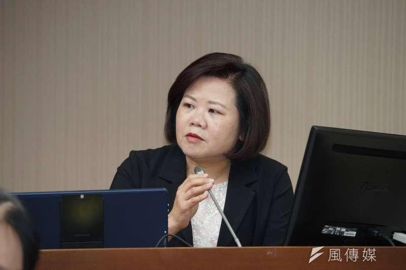20191007-勞動部長許銘春於衛環委員會備詢。(盧逸峰攝)