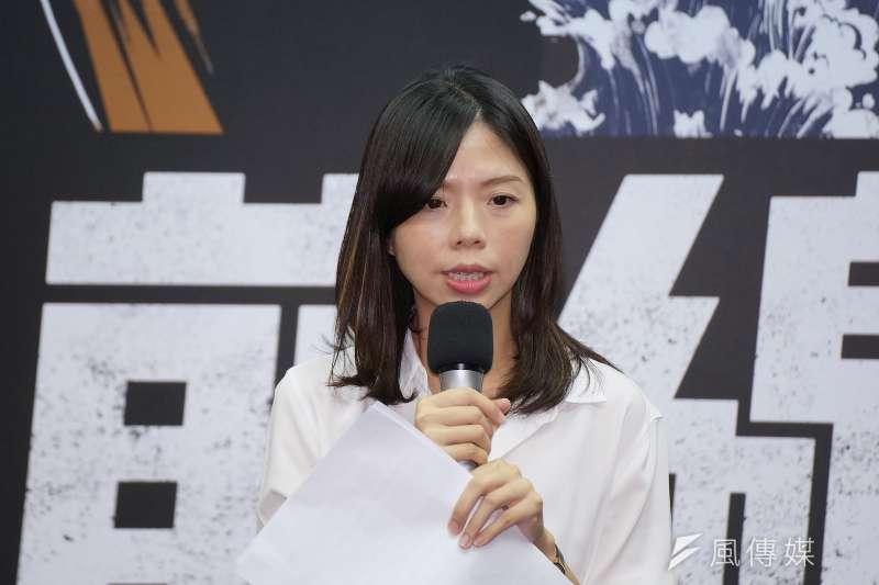 無黨籍立委的洪慈庸(見圖)可能將在明年大選再度對上四年前的對手、現任台中市副市長楊瓊瓔,她不敢低估藍營基本盤與地方勢力,選得戰戰兢兢。(資料照,盧逸峰攝)