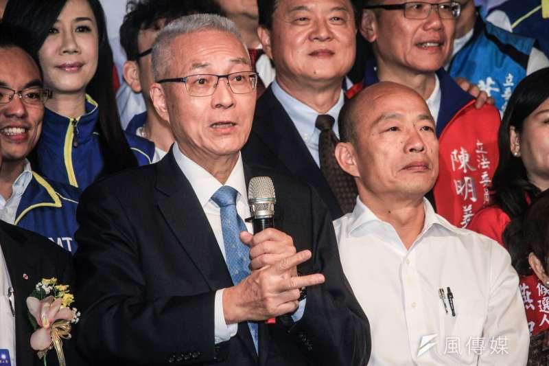 國民黨不分區立委名單預計11月中出爐,國民黨主席吳敦義(見圖)是否列入備受外界矚目。(資料照,蔡親傑攝)