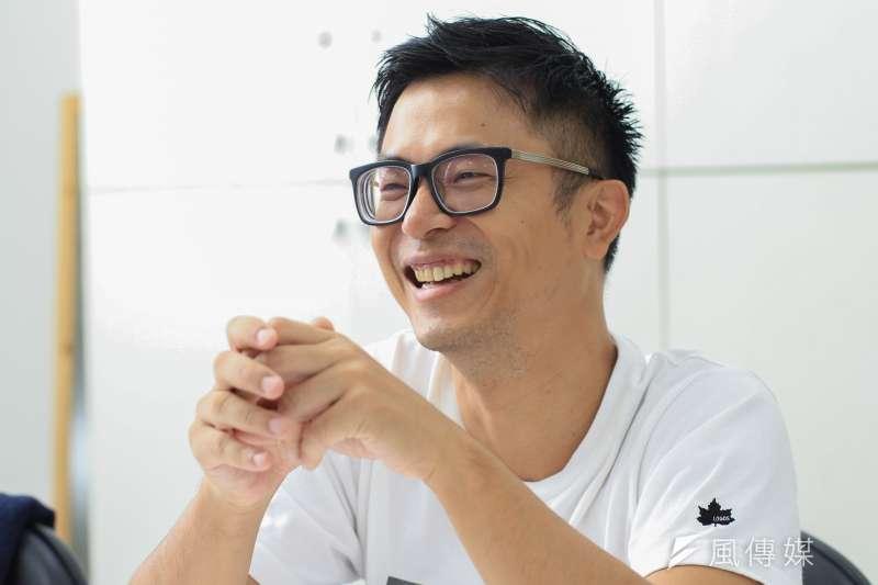 20191009-電影「江湖無難事」導演高炳權9日接受專訪。(蔡親傑攝)