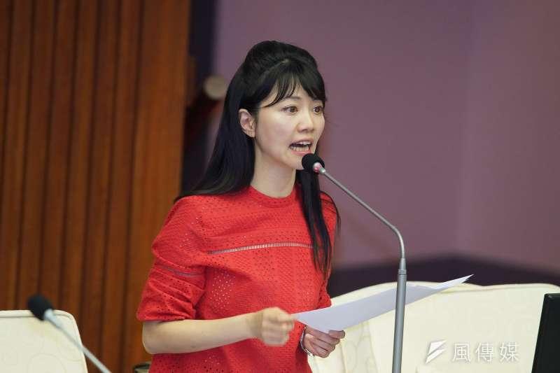 「一邊一國行動黨」6日表示,民進黨台北市議員高嘉瑜(見圖)已不適任,因此將在南港內湖區推出區域立委候選人。(資料照,盧逸峰攝)