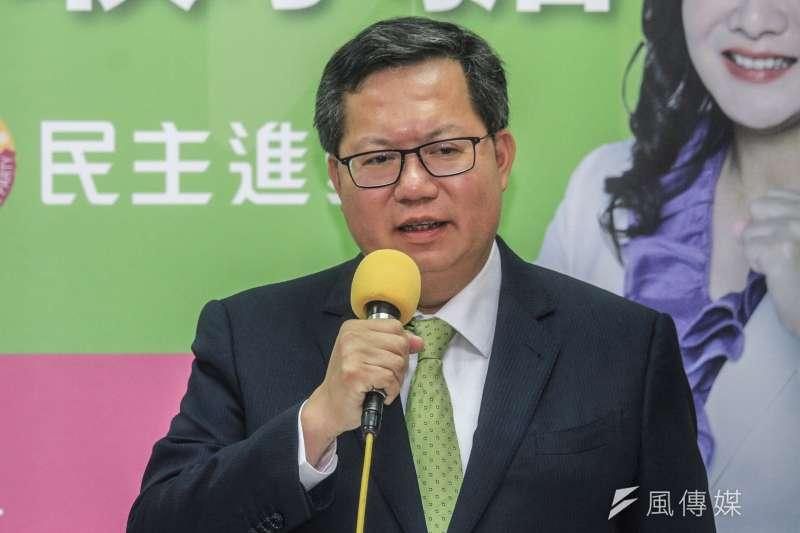 民進黨籍桃園市長鄭文燦日前接受網紅訪問時,坦言自己有想過「想當總統」。(資料照,蔡親傑攝)