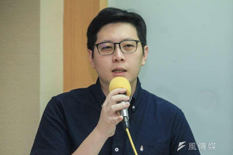 綠黨今(13)日將確定不分區立委名單,桃園市議員王浩宇(見圖)排第3。(資料照,蔡親傑攝)