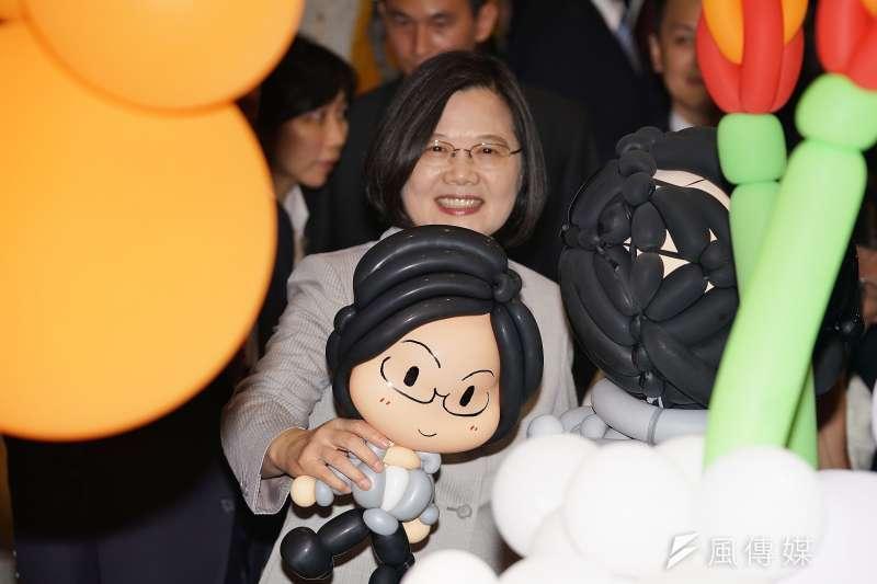 針對陳同佳案,總統蔡英文強調,受害者和加害者都是香港公民,但既然香港政府不願意行使司法管轄權、不願意替香港人伸張正義,那就由中華民國來處理。(盧逸峰攝)