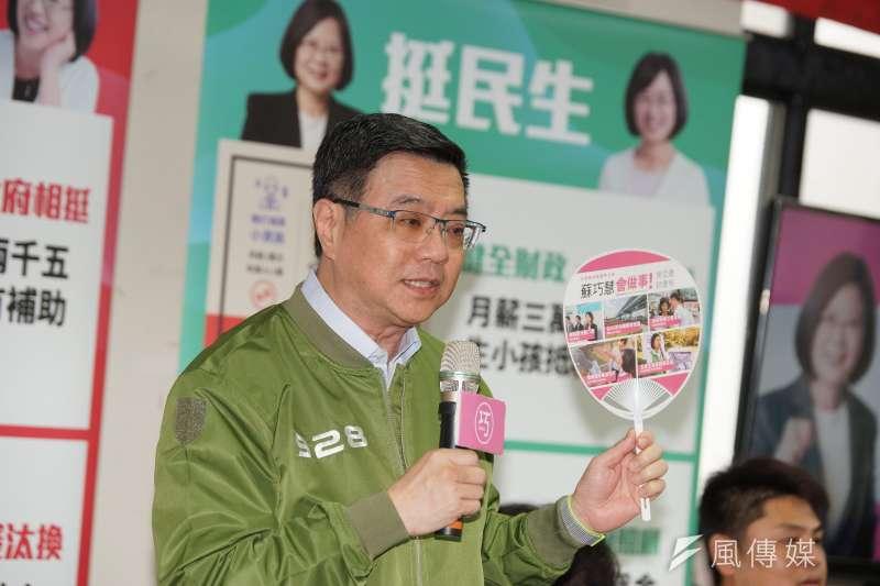 民進黨不分區提名是各派系必爭之地,黨主席席卓榮泰所提出的提名委員會,也捲入黨內紛爭。(資料照片,盧逸峰攝)