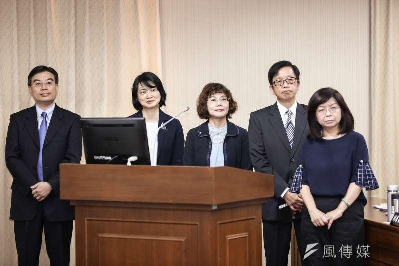 20191014-中央選舉委員被提名人14日出席內政、司法及法制委員會聯席審查中選會委員人事同意權案。(簡必丞攝)