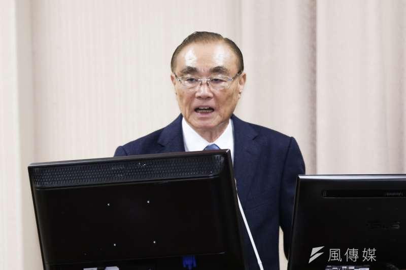 20191014-退輔會主委 馮世寬14日出席立法院國防委員會。(簡必丞攝)