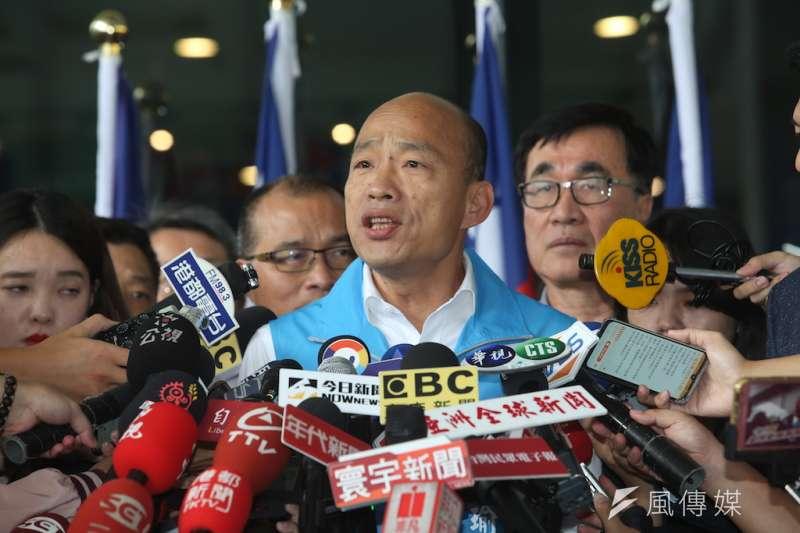 國民黨總統參選人韓國瑜近來身陷豪宅風波。媒體人羅友志認為,隨著大選日程接近,就會有更多「奧步」出現。(資料照,徐炳文攝)