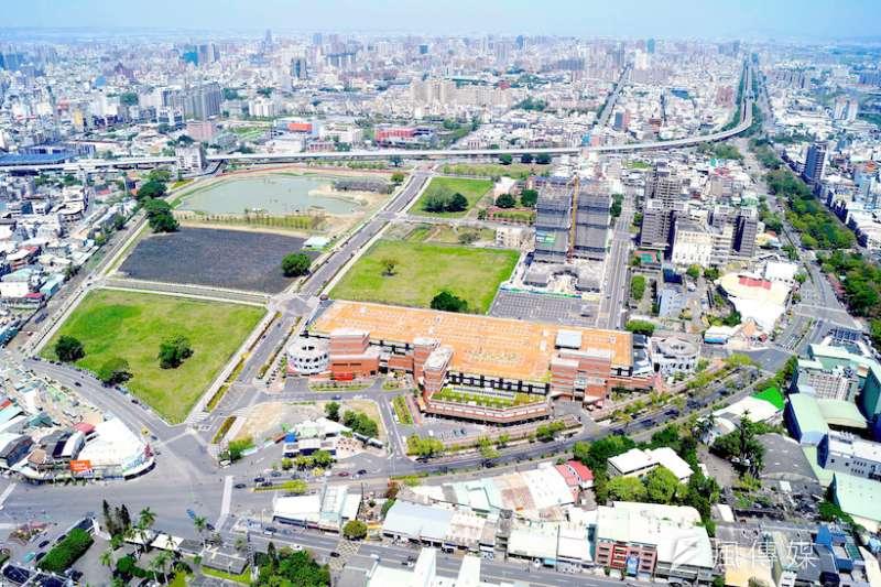 臺中市政府以區段徵收方式,辦理整體開發。重新調整土地使用,導入適當活動機能,帶動地方經濟發展。(圖/臺中市政府提供)