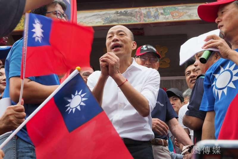 「宅神」朱學恒16日在節目上表示,韓國瑜的造勢現場很熱鬧,但場子熱未必能吸票。(資料照,新新聞林瑞慶攝)