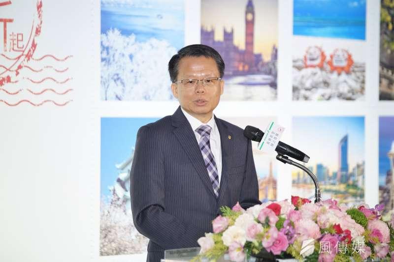 長榮航進行董事改選,總經理孫嘉明也在新任董事名單中。(盧逸峰攝)