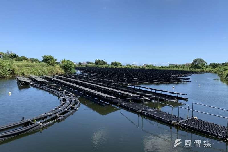桃園埤塘發展光電,但也引起環保爭議。(資料照,尹俞歡攝)