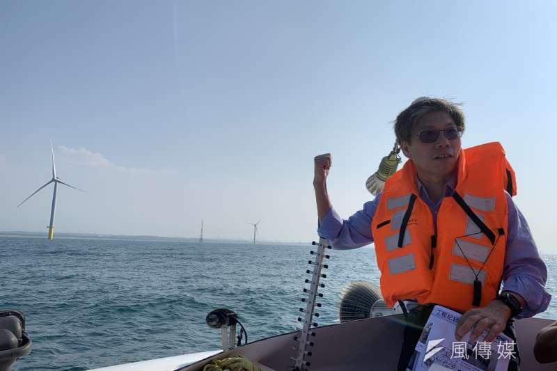 20191016-風數據/綠能專題。離岸風電,上緯總經理林雍堯。(尹俞歡攝)