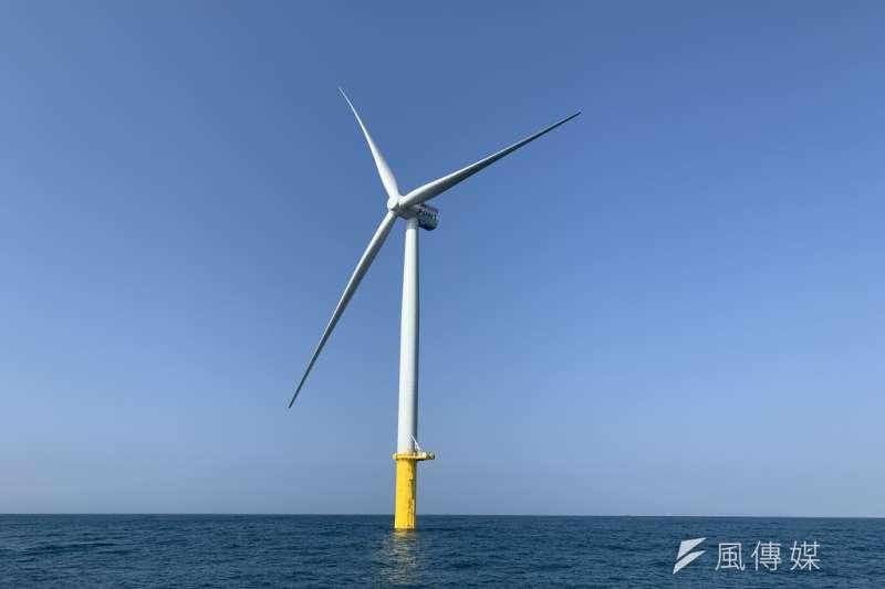 20191016-風數據/綠能專題。離岸風電。(尹俞歡攝)