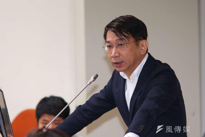 20191017-時代力量立委徐永明17日於經濟委員會質詢。(顏麟宇攝)