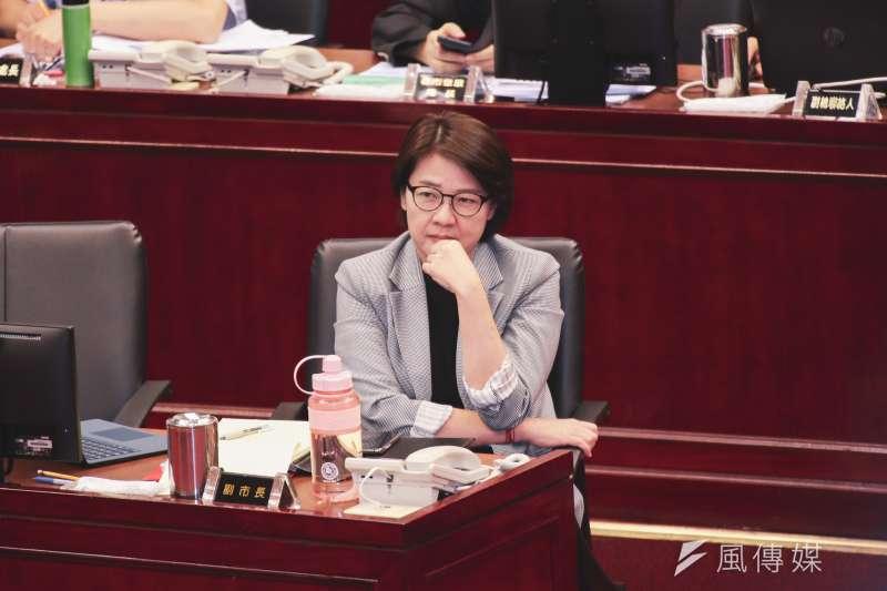 20191017-台北市副市長黃珊珊17日至市議會備質詢。(簡必丞攝)