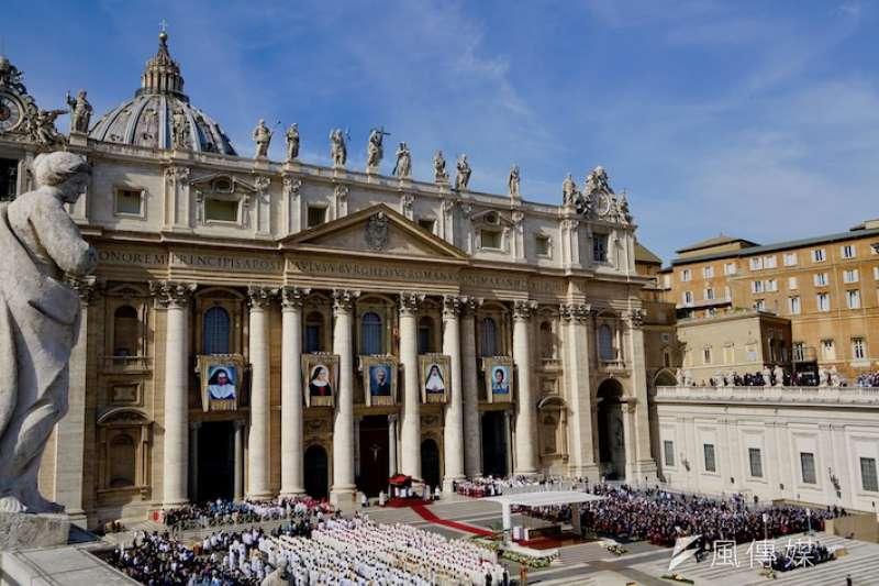 2019年梵蒂岡封聖彌撒典禮 (曾廣儀攝)