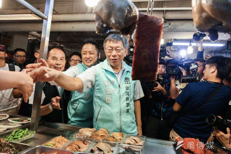 針對國民黨總統參選人韓國瑜取消訪美行程,台北市長柯文哲(見圖)19日表示,在台灣要選總統的人,一個程度上還是要得到美國的信任。(簡必承攝)