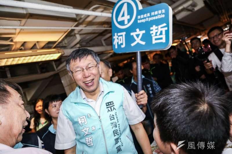 作者認為,經過這麼多年的歷練,台北市長柯文哲(見圖)已經不再是誤入叢林的小白兔,而是一隻具有深謀遠慮的大獅子。(資料照,簡必丞攝)