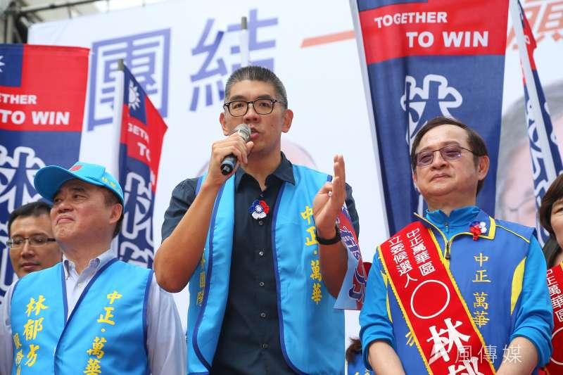 國民黨中央委員連勝文(見圖)指出,藍營的選民相當挑剔,尚有許多人未表態支持黨內候選人韓國瑜。(資料照,顏麟宇攝)