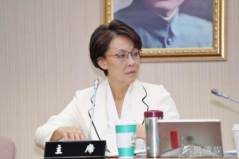 20191021-立委黃昭順於21日主持內政委員會。(盧逸峰攝)