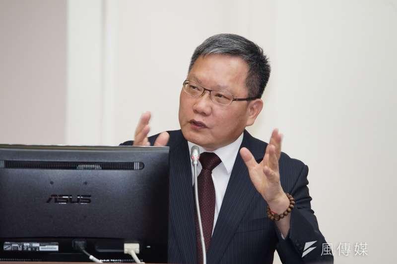 20191021-財政部長蘇建榮21日出席財政委員會備詢。(盧逸峰攝)