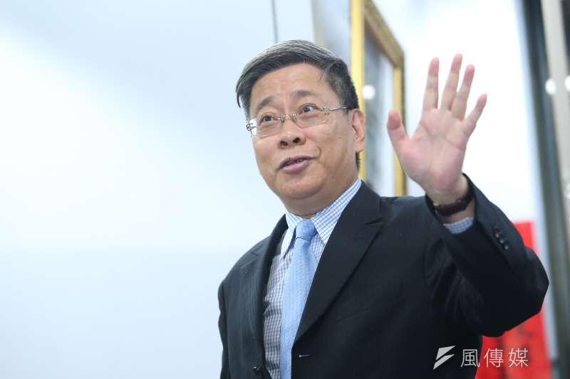 上海台辦主任李文輝(見圖)21日拜會台北市長柯文哲。(顏麟宇攝)