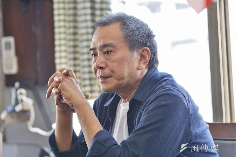 20191022-導演張作驥22日接受《風傳媒》專訪。(盧逸峰攝)