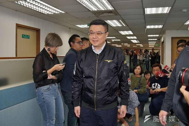 經過黨主席卓榮泰等人多次折衝協調,民進黨不分區終於出爐。(資料照片,盧逸峰攝)
