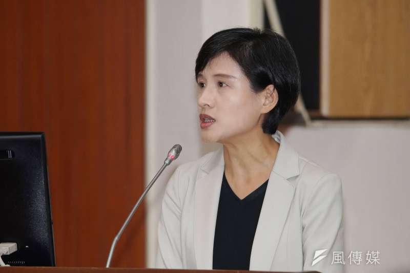 20191023-文化部長鄭麗君23日赴教育文化委員會備詢。(盧逸峰攝)