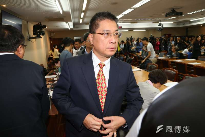 20191024-內政部長徐國勇24日出席立院內政委員會。(顏麟宇攝)
