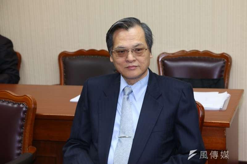 20191024-陸委會主委陳明通24日出席立院內政委員會。(顏麟宇攝)